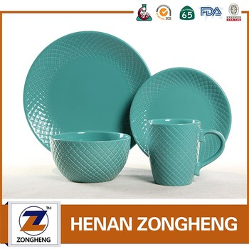 wholesale home good top choice used china restaurant ceramic stoneware dinnerware set