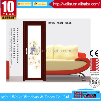 Custom size available sliding economical glass door