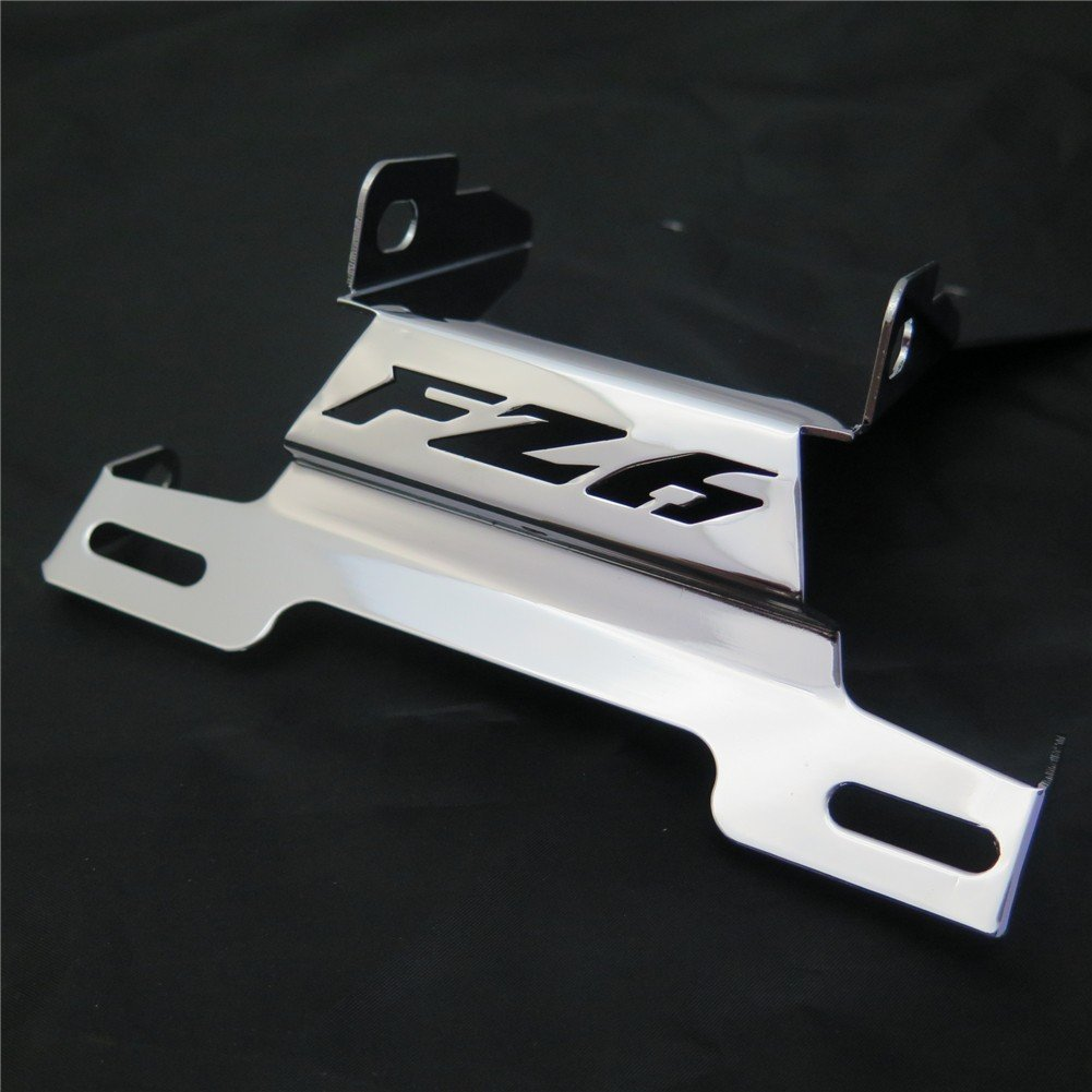 "HTT Fender Eliminator Tidy Tail w/ LED Light ""FZ6"" Logo For 2006 2007 2008 Yamaha Fz6 Fazer 2007-2008 Chrome"
