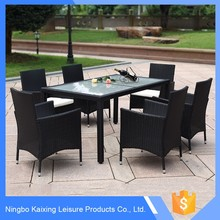 Outdoor Rattan Patio Set coffee table and chair