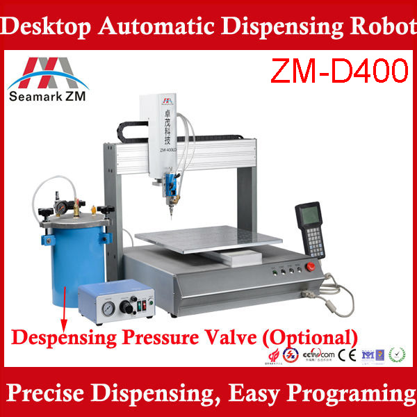 automatic SMT PCB board solder paste dispenser ZM-400ED glue dispenser <strong>machine</strong>
