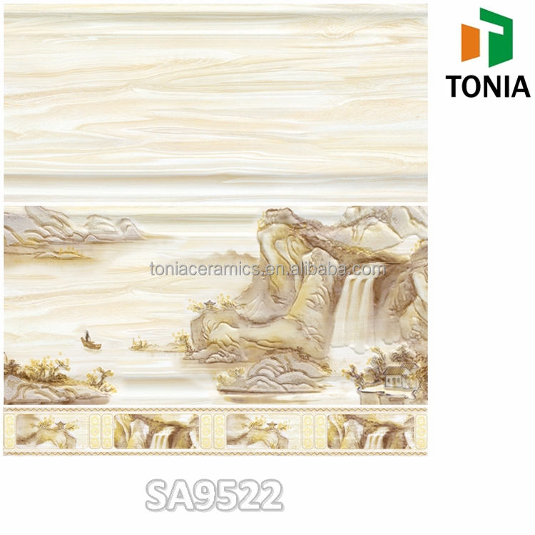 300x600 Chinese Landscape Painting Decor Tile Living Room Bathroom Wall  Tiles price in sri lanka. 300x600 Chinese Landscape Painting Decor Tile Living Room Bathroom