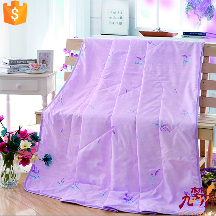 Hign grade packing southeast Asia style cotton fabric washable silk quilt