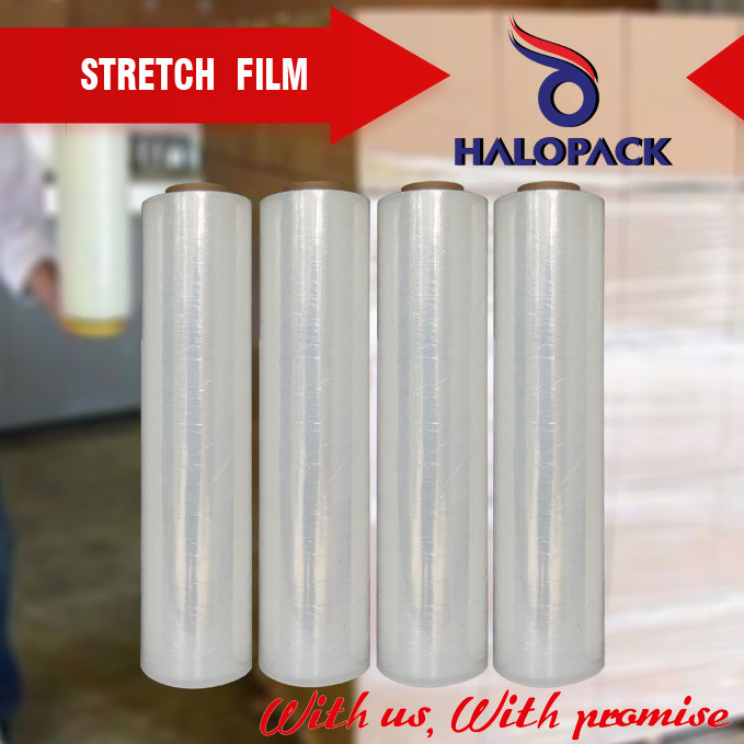LLDPE Wrap Stretch Shrink Cast Film For Pallet Use