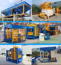 WANTE BRAND QT6-15 hydraulic concrete paver brick making machine for sale