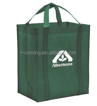 Cheap Printed Extra Large Reusable Grocery Tote pp Non Woven Big Shopping Bag