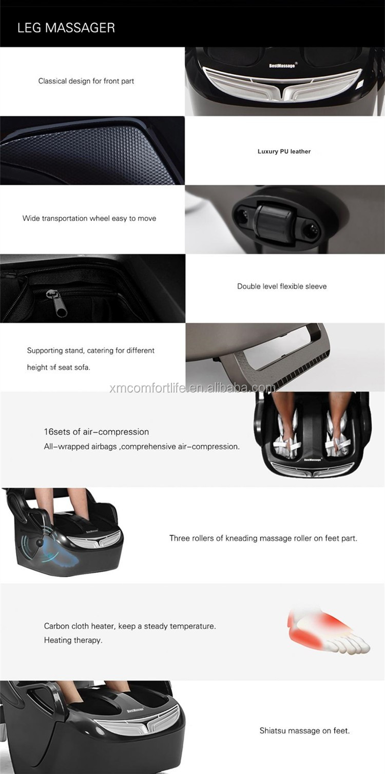 Best Heated electric Knee calf and Foot warmer Massager