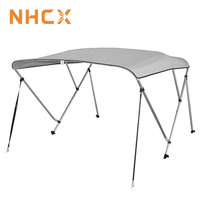 NHCX marine products 3 bow 97-03'' bimini top large easy instalinglanti-UV boat tent