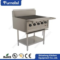 Restaurant Industrial Stainless Steel outdoor Professional outdoor gas grill with oven