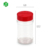 Free samples online shopping plastic container new product plastic jars with PP flip top spice jar