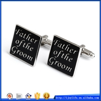 Modern Cheapest best man wedding cufflinks gifts