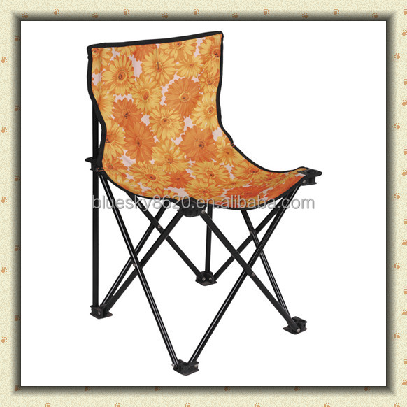 Outdoor Armless Small Fabric Folding Fishing Camping Chair