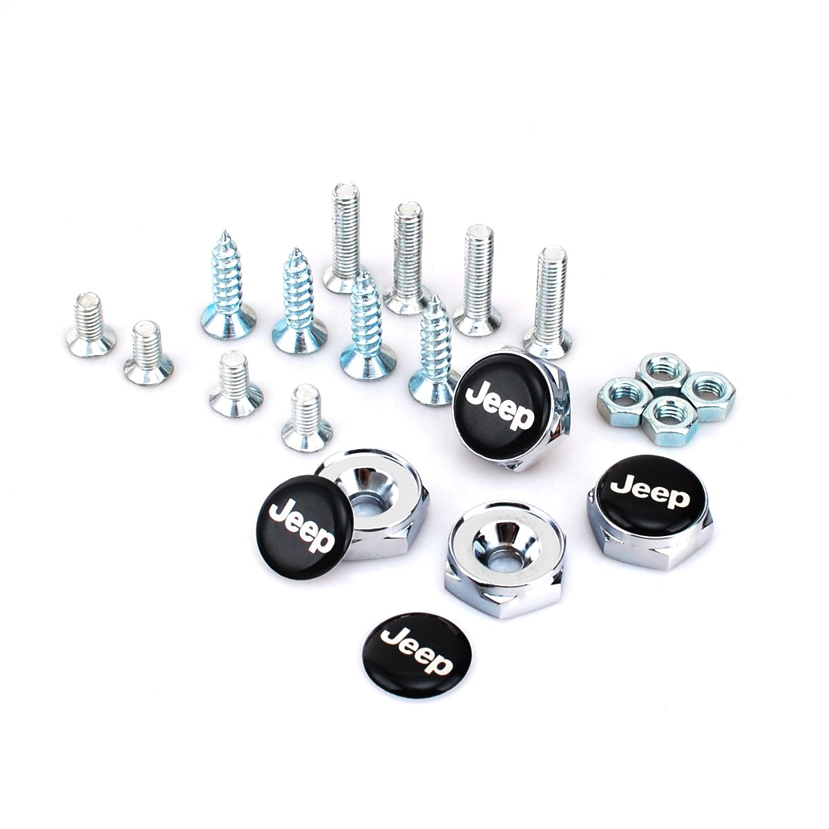 AEMULUS Combo Set Silver Tire Valve Stem Air Caps Cover and Keychain Tire Decoration For Car Auto SSR