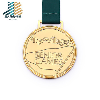 hot sale embossed medal custom champion gold award medal of honor