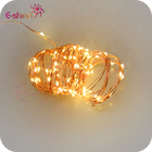 Christmas Decoration 3AA Battery Pack 5M 50L Mirco Led Copper Wire String Lights