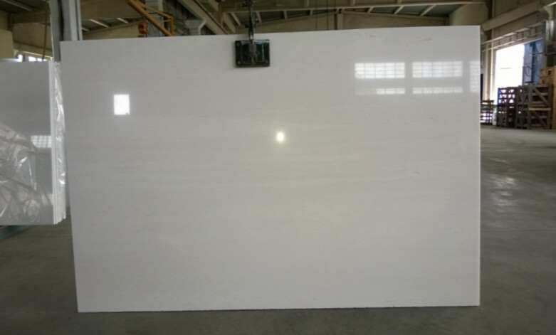 Factory Price Nano White Marble Slab Marble Flooring