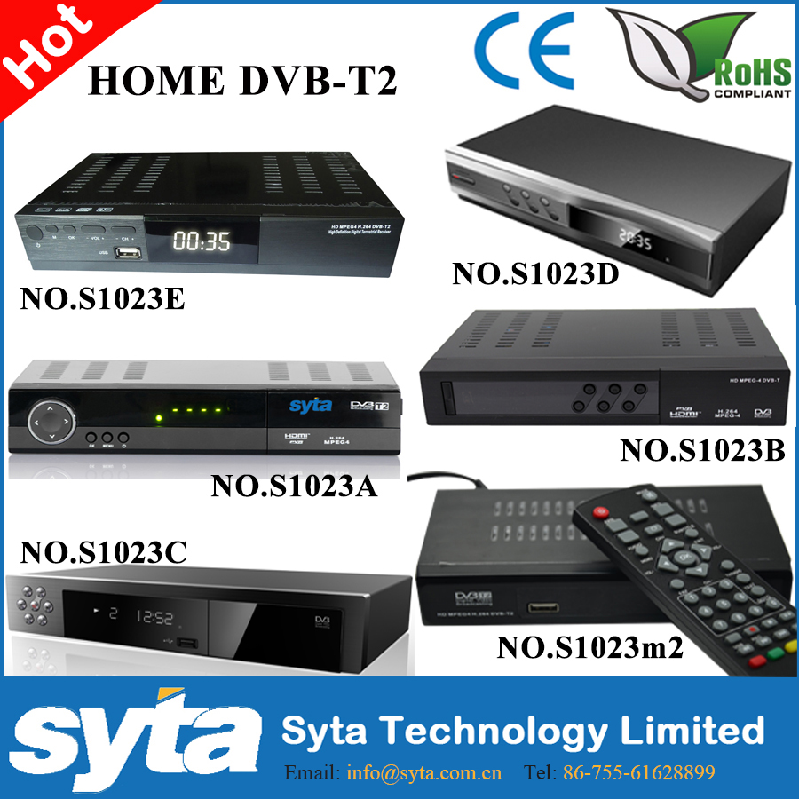 SYTA common MPEG4 H.264 full hd digital tv mpeg4 mutil-choice panel <strong>stb</strong> dvb-t2 TV Receiver fta <strong>stb</strong>