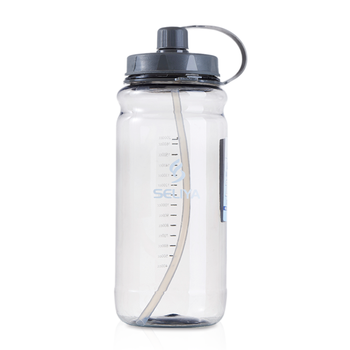 Customised wide mouth 1.5 liter 2000ml large clear plastic water cup bottle