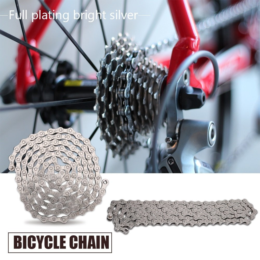 GLOGLOW 5 Pairs Bicycle Links Heavy Duty Bike Quick Release Chain Master Link Magic Joint Connector 8//9//10 Speed as Outdoor Spares 8//7//6 speed