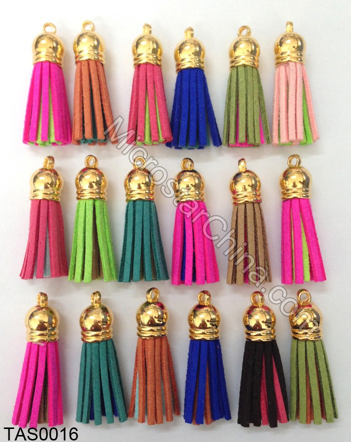 Jewelry Tassel Soft Leather Suede Tassel