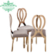 High quality wholesale butterfly rose gold royal princess wedding chair