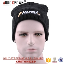 wholesale custom embroidered beanie hats with logo