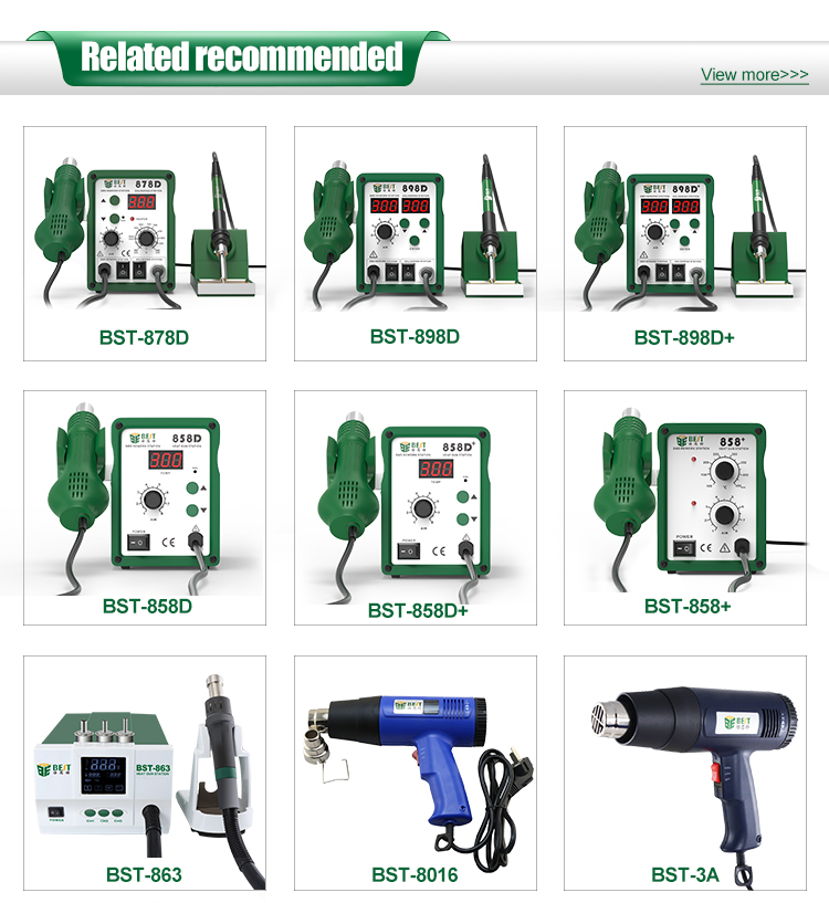 Reasonable Price 700w CE smd soldering rework station