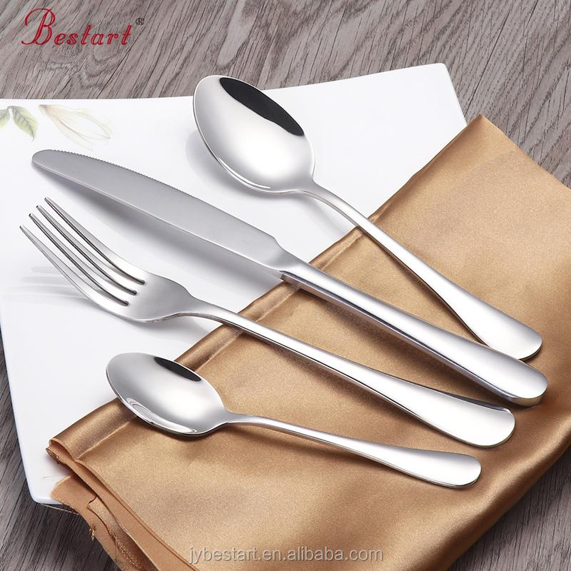 Cour royale gaufrer en acier inoxydable Couverts Set Dinnerware Couteau Fourchette Cuillère Set