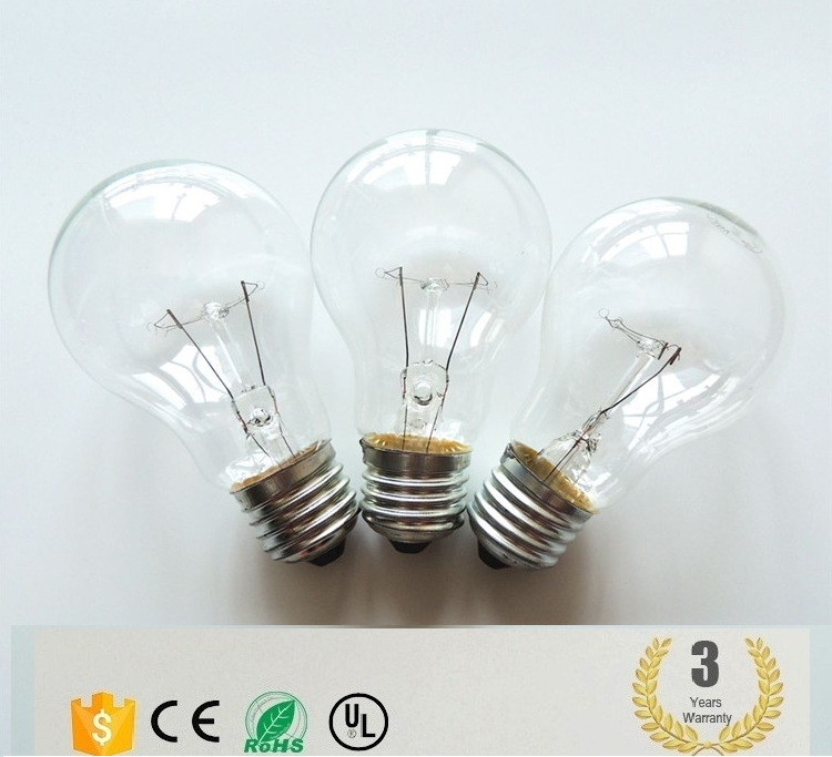 clear a19 bulb factory direct sale clear bulb lamp promotion sale 110v 12v 60w incandescent bulb