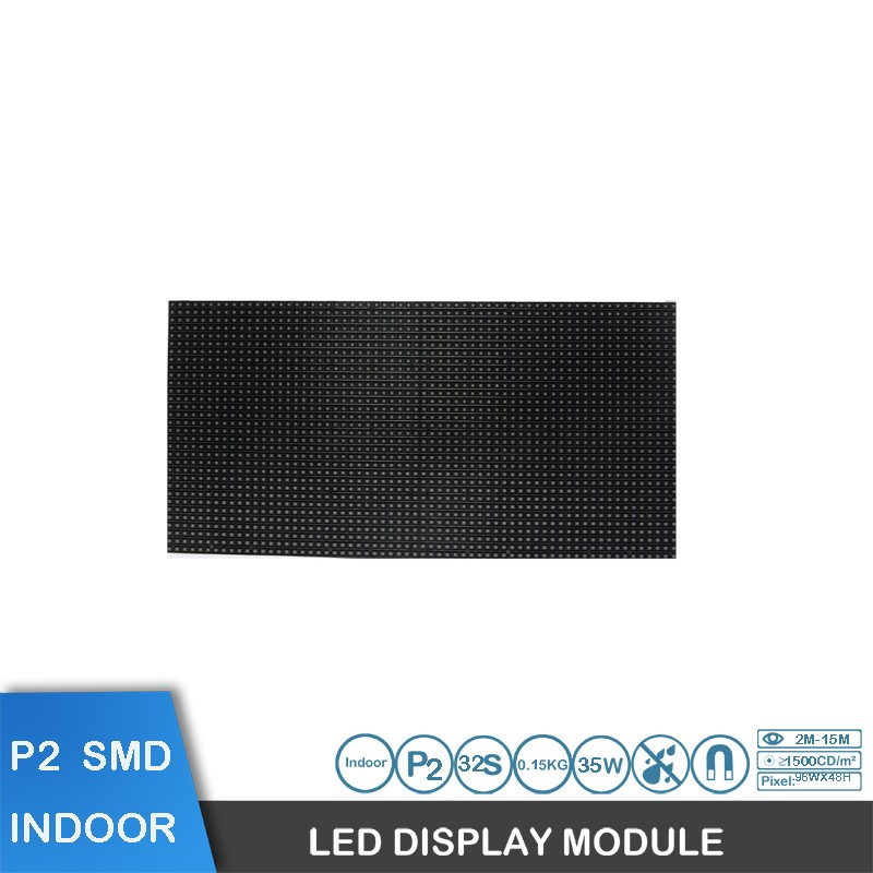 guangdong P2 full color indoor video rental led display module