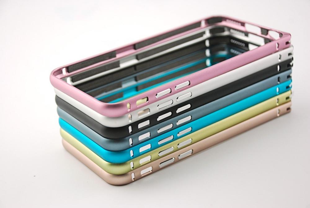 Tidsmæssigt Ultra Thin Slim Aluminum Metal Bumper Frame Case For Iphone 5 KN-02