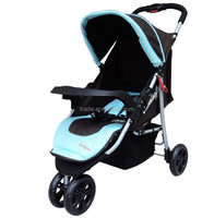 one hand fold classic 3 wheel baby stroller for sale with EN1888 test