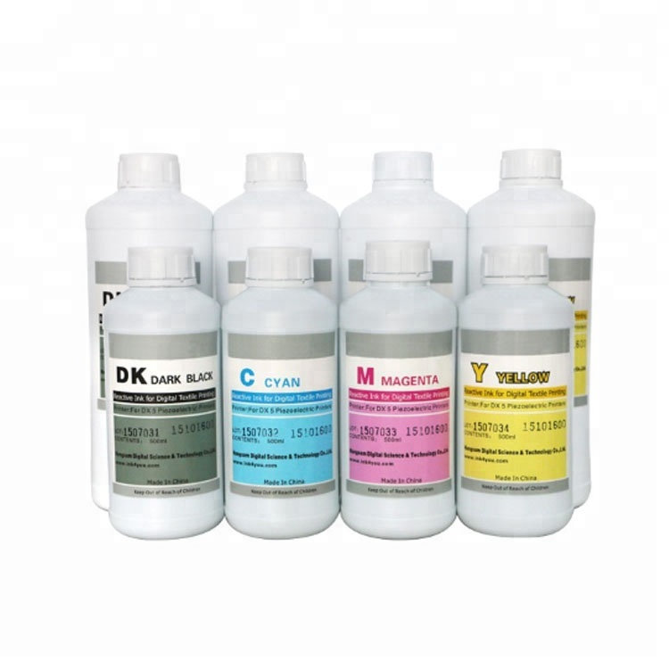 Dye digital textile printing sublimation ink for epson
