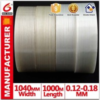 Weather resistant striped glass fiber tape