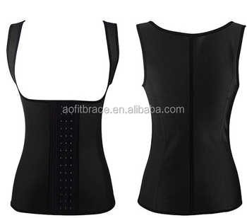 0e1d8ba450e10 Neoprene Waist Trainer Corset Vest For Weight Loss