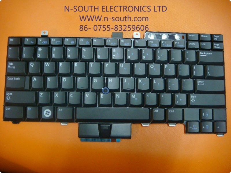 Computer Part Laptop Keyboard Replace For Dell E6400 Keyboard