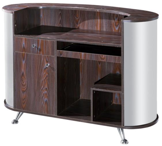 nueva moda belleza salon muebles de madera recepcin mostrador para la venta