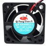 QFDJ professional industrial fan manufacture 120mm 12v dc mini fan for cooling control