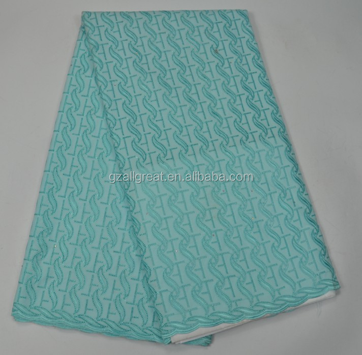 AG3870#1 mint/2017 new Embroidery Swiss Voile Lace / high quality african wedding french lace fabric