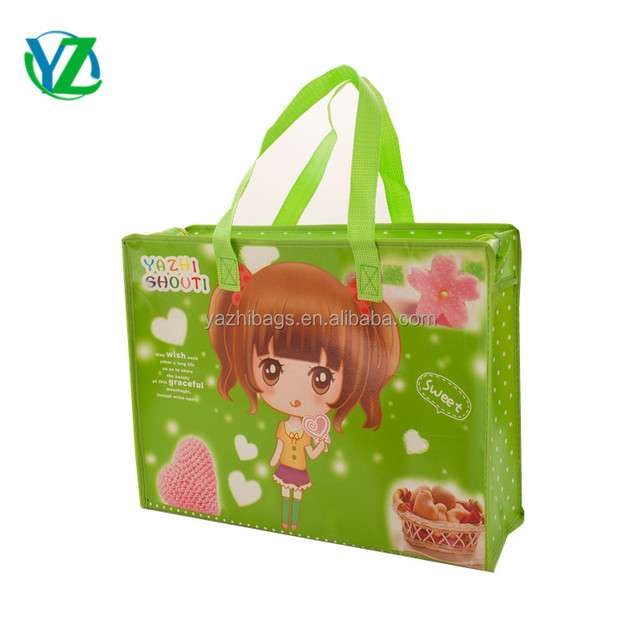 ??`'???y?.[Zh_wholesale plastic non woven gift bag handle style carry bag yzh3