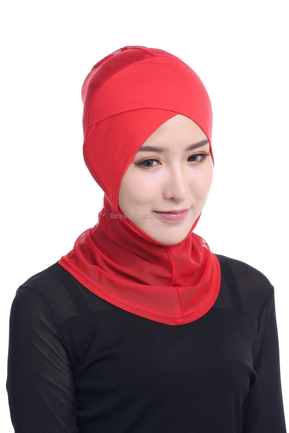 Fashion women ladies muslim inner hijab caps hot islamic under scarf