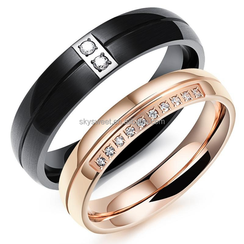 wedding rings blushingblonde flg military bands black