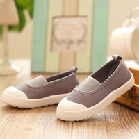 Canvas upper and Rubber outsole kids vulcanized casual canvas shoes