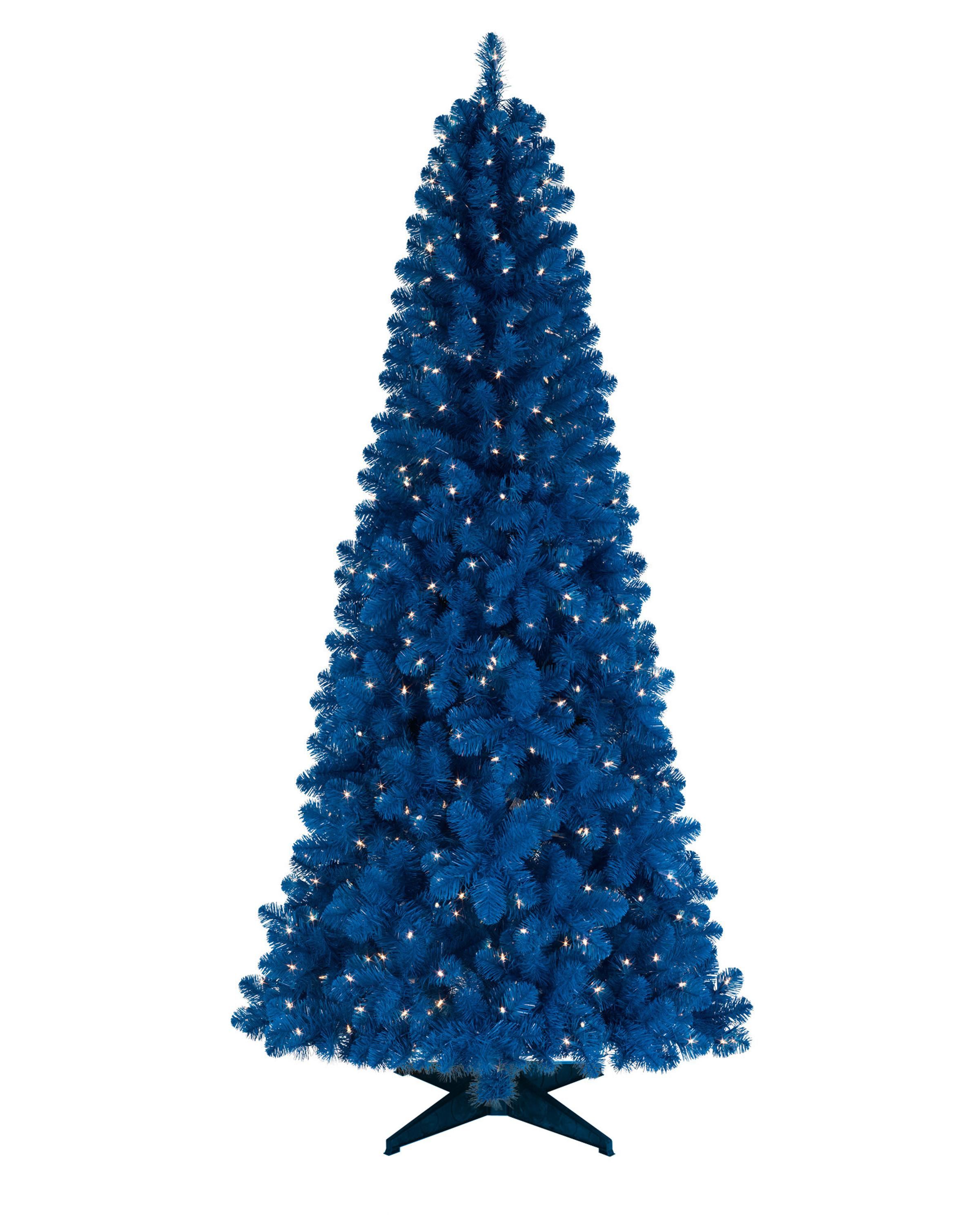 75 Blue Artificial Christmas Tree With Light Rs20145621 Buy