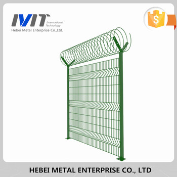 50x200 Decorative Welded Garden Wire Mesh Fence Panels for garden fence
