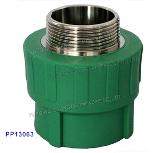 25mm 63mm 2'' PPR Male Adaptor/ Coupling for Water System