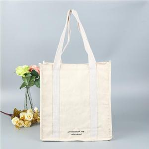 12oz Wholesale China factory price custom high end canvas cotton tote bag