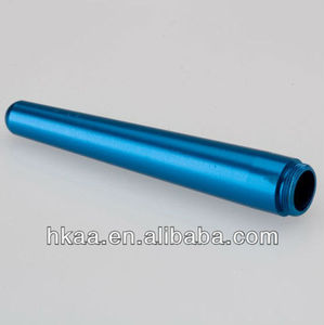 CNC Machining lighting color anodized aluminum hollow spline shaft manufacturer