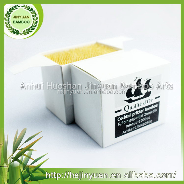 Best price good quality bamboo charcoal toothpicks