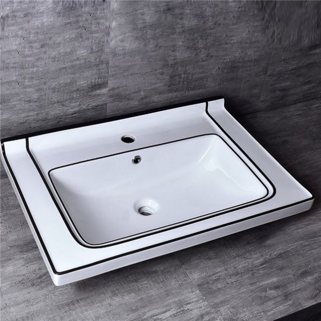 Good Material Sanitary Ware Supplier Cast Iron Basin